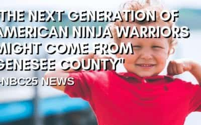 """The next generation of American ninja warriors might come from Genesee County"" -NBC25 News."