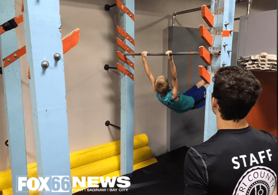 """Families train like 'warriors' at Fenton Gym- Fox 66 News, Ron Hilliard"